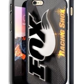 Best A5 Fox Racing Shox Black iPhone 6s 7 8 X Plus Print On Hard Plastic Case