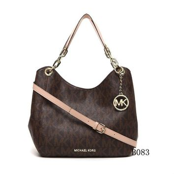 Michael Kors MK Leather Handbag Tote Shoulder Bag Satchel0