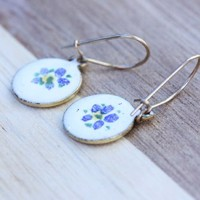 Supermarket: Vintage Flower Drops from Diament Jewelry