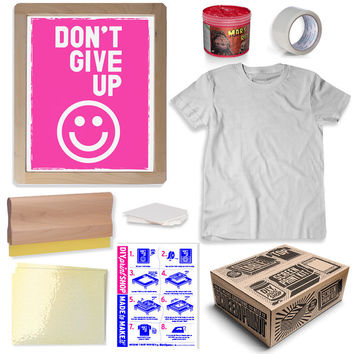 Beginner T-Shirt Screen Printing Kit