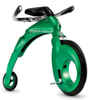 The Folding Electric Mini-Farthing - Hammacher Schlemmer