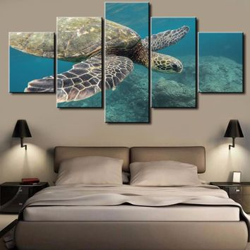 HD Print Many Styles 5 Pieces One Set Figure Bedroom Painting Wall Art Home Decoration Canvas Paintings For Living Room