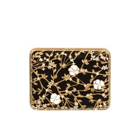 Floral & Pearl Evening Book Clutch  Alexander McQueen | Clutch | Bags |