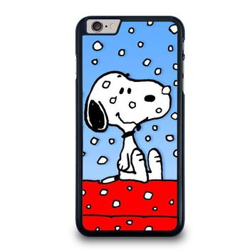 snoopy dog christmas iphone 6 6s plus case cover  number 1
