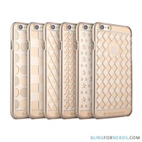 Ultra Slim Gold Pattern Case - iPhone 6