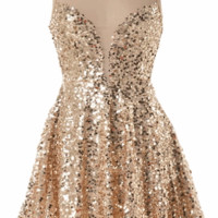 Golden Glitz Dress | HGD95