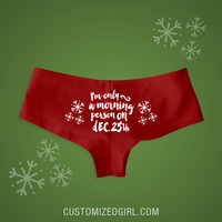Xmas Morning Undies