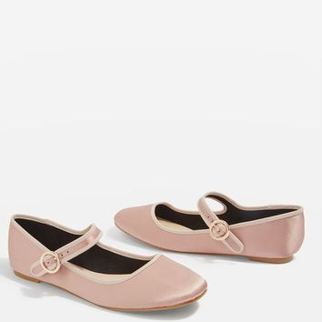 Valentine Mary Jane Ballerina Pumps | Topshop