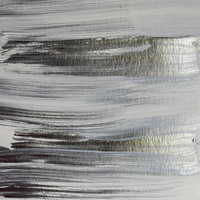 Metallic Abstract Painting 5 #texture #minimalism by Andrea Anderegg Photography