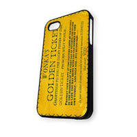 Willi Wonka And The Chocolate iPhone 4/4S Case