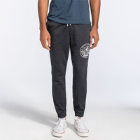 Volcom Badger Mens Sweatpants Heather Black  In Sizes