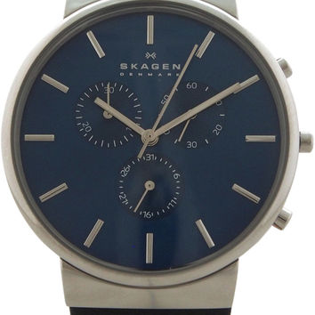 Skagen - SKW6105 Ancher Leather Chronograph Watch Watch 1 piece