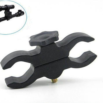 Mult Gun Scope Mount Clamp Clip For Flashlight Torch Telescope Sight Laser Bike Scope