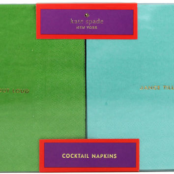 Cocktail Napkins in Multi-Color by Kate Spade New York