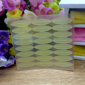 24 Pairs Makeup Tool Matte Wide Double Eyelid Tape Sticker