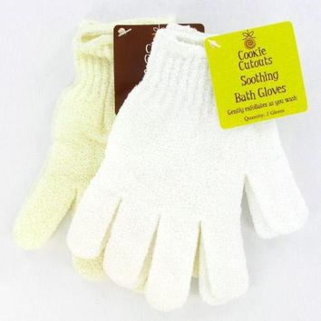 SOOTHING BATH MITTS