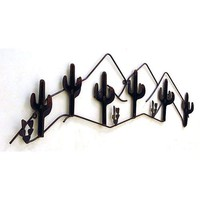 IronCraft 6666RU Cacti Coat Rack
