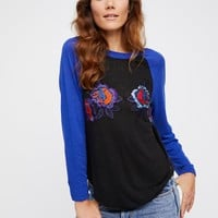 Free People Optimist Flower Tee