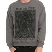 Crown The Empire Leave Me Crewneck Sweatshirt