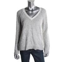 Sanctuary Clothing Womens Knit Long Sleeves Pullover Sweater