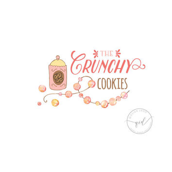 Logo  Cookies Bakery logo design professional business logo  food logo  business card sign  small business branding
