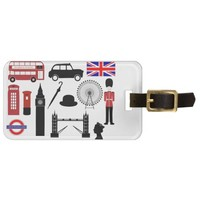 London Tag For Luggage