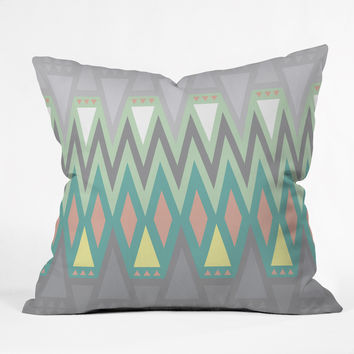 Gabi All Things New Throw Pillow