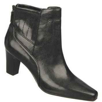 Franco Sarto Test Faux Leather Ankle Boots