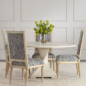 John-Richard Collection Lavertezzo Dining Table and Matching Items