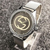 GUCCI Fashion Ladies Men Diamond Watch Business Watches Wrist Watch