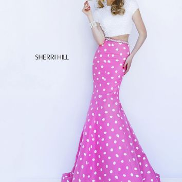 Sherri Hill 32226 Polka Dot Dress