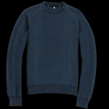 UNIONMADE - Alex Mill - Fisherman Pullover in Indigo