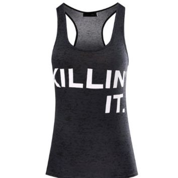 Killin' It Workout Tank
