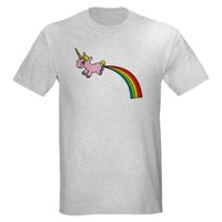 Rainbow Poop T-Shirt on CafePress.com