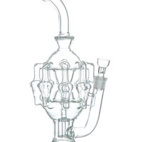 Boo Glass Eight-Arm Chandelier Recycler