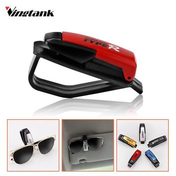Universal ABS Fastener Clip Auto Accessories Sun Visor Sunglasses EyeglassesTicket Holder Clip FREE SHIPPING
