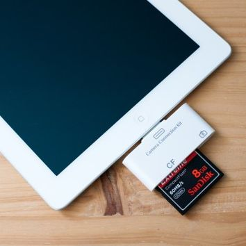 iPad CF and SD Card Readers - The Photojojo Store!