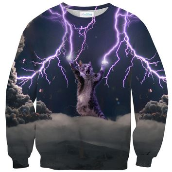 Lightning Cat Sweater
