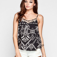 Billabong Radical Skies Womens Cami Black  In Sizes