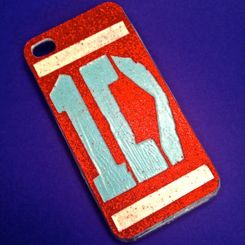 HANDMADE GLITTER One Direction iPhone 4 4s Phone Case 1D Directioner Custom cover Infinity 5c 5s Harry Niall Zayn Samsung HTC Ipad Liam