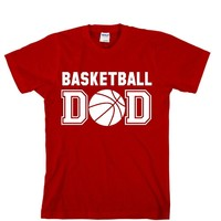 Basketball DAD Unisex Adult T-shirt - Great Gift For Awesome DAD