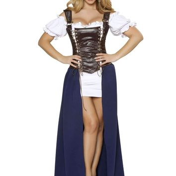Roma Costume 4363 Seductive Serving Wench