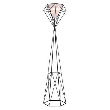 Delancey Floor Lamp Black