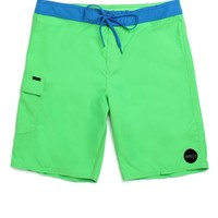 O'Neill Santa Cruz Solid Boardshorts - Mens Board Shorts - Green