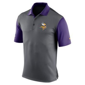 Nike Preseason (NFL Vikings) Men's Polo Shirt