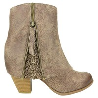 Summer Bootie~ Not Rated (Multiple Colors)