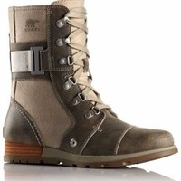 Sorel Major Carly Boots for Women in Fossil 1627201-160