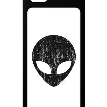 Extraterrestrial Face - Alien Distressed iPhone 5 / 5S Grip Case  by TooLoud