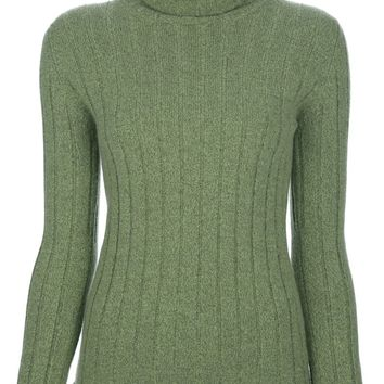 Chanel Vintage funnel neck sweater