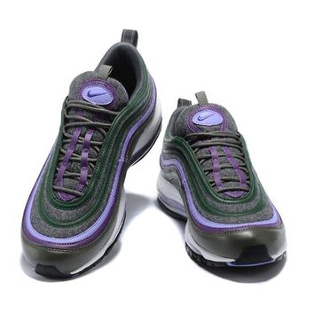 Nike Air Max 97 2018 men and women tide brand fashion comfortable shock absorption sports shoes F